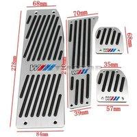 aluminum polishing pads - POLISHED ALUMINUM M PEDAL PAD SET FOOTREST FOR BMW X1 E30 E36 E46 E87 E93