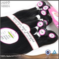 Cheap Straight Human Hair Weft Best Can Be Dyed And Bleached Hairs
