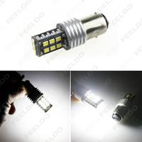 Wholesale 10PCS V V DC Car Truck BAY15D SMD Chip Turn Parking LED Headlight Lamp Bulbs simple installation