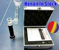 cigarette - Latest Version E dab kit H Enail Dry Herb Wax vaporizer Titanium chamber Coil E Cigarette kit mah Atomizer VS Greenlight G9 Henail