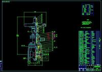 bar drawing machine - Soft sealing valve DN600 drawing dark bar drawings Full Machining drawings