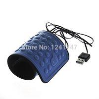 Wholesale USB-Mini Portable flexible del paquete acumulativo de silicona impermeable teclado con cable para PC de escritorio / ordenador portátil