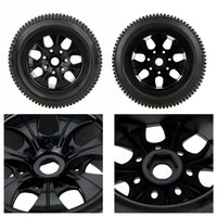 Wholesale 2Pcs New RC Truck Car Wheel Rim and Tire for Traxxas HSP Tamiya HPI Kyosho RC Car Part