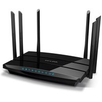 achat en gros de répéteur sans fil à la maison-TP-LINK TL-WDR7500 1750Mbps 11AC Dual Band Wireless Router WIFI Repeater Router Extender Gigabit 2.4GHz + 5GHz For Home / Enterprise