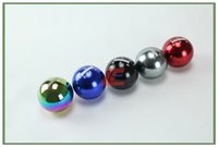Wholesale Universal Mugen Manual Automatic Spherical car Speed Gear Shift Knob Neo Chrome