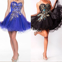 Cheap Model Pictures Short Prom Dresses Best Sweetheart Crepe Cheap