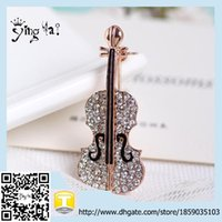 best music instrument - zinc alloy material music instrument guitar brooch Best selling new product Jewelry Clothes Sweater Accessories price