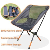 beach chair designs - Portable Light Weight Outdoor Folding Camping Stool Chair Seat for Fishing Festival Picnic BBQ Beach With Bag Blue New Design