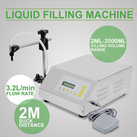 Wholesale Liquid Filling Machine Pump Numerical Filler Digital Control ml to ml Drink Water GFK160