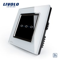 Wholesale livolo force Wal intelligent switch switch socket R series single control three way remote control switch