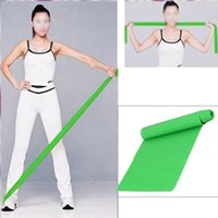 Wholesale x Green m Rubber Stretch Resistance Exercise Fitness Band order lt no track