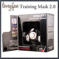 Wholesale Training sport mask High Altitude Simulation Cross Fit Yoga Fitness Equipment Boxing Fitness Equipment Training ourdoor Equipment