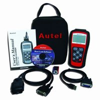 Wholesale MS509 Autel MaxiScan Diagnostic code reader OBD scanner latest version high quality ms509 Autel MS