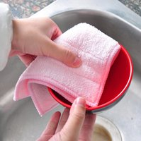 absorbent rags - pc Ultra Absorbent Microfiber Auto Car Cleaning Cloths Rag Kitchen Dishcloths Towels QD5