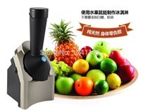 Wholesale DIY Fruit Ice Cream Machine Ice Cream Machine Automatic Household Slush Maker Smoothie Maker A3