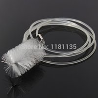 aquarium tube cleaner - Clear Plastic U Tube Aquarium Filter Hose Pipe Cleaning Brush Cleaner Usseful