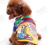 Precio de Precio más bajo por mayor de china-Al por mayor-2015 perro caliente al por mayor venta de mascotas ropa fabricante en China, el envío rápido, precio más bajo