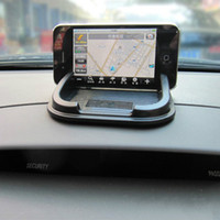Wholesale Car Anti Slip proof Pad Mat Styling Dashboard Skid mount Holder gadget for iPhone s c S plus GPS MP3