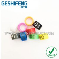 Wholesale mm free design plastic ring for pigeon