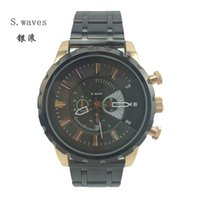 american steel table - Brand Wristwatch Quartz Watch Date DZ Fossiler American Men Stainless steel Casual Fashion Army table Masculino Relogio Reloj