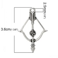 antiques meaning - Dorabeads Charm Pendants Bow and Arrow Antique Silver Lead Nickel Free cm x cm pendant meaning nickel rod