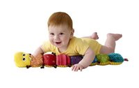 Wholesale 60pcs Lamaze Musical Inchworm plush baby toys Educational toy