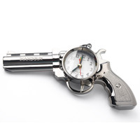 antique bedside clock - Creative Gift For Kids Gun Shape Pistol Alarm Clock Bedside Alarm Clock H018