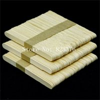 Wholesale DHL Freeshipping wooden Color Popsicle Stick Ice Cream Cake DIY HandiCraft Art Kid