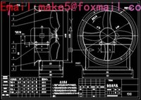 Wholesale Y5 NO7 C high pressure centrifugal fanDrawings Full Machining drawings CAD
