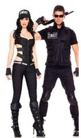 Wholesale Sexy SWAT Sniper Cop Costume Game Uniform Halloween Party Cosplay Uniforms SP1382
