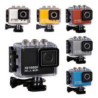 Wholesale 2015 New Go Pro Style Camera WiFi Portable Video Camcorder FHD1080P Waterproof Digital Action Camera SJ WiFi Filmadora