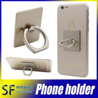 Wholesale Universal phone Holder For iphone s plus mobile phone ring stent simplest universal smartphone mount for iphone s DHL retail package