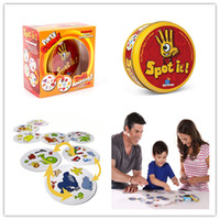 Wholesale Spot It Popular Christmas Toys Spot It Party Game Award winning game of visual perception for the whole family Popular Board Game