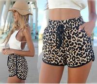 Wholesale Women Sexy Leopard Beach Shorts New Summer Hot Sales Fashion Clothing Casual pants Hot Shorts CC