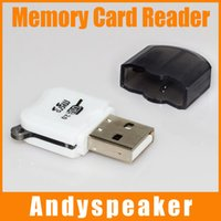 Wholesale Mini Memory Card Reader High Speed Micro USB SD TF T Flash Memory Card Reader Adapter Black