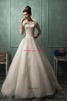 Cheap Amelia Sposa 2014 Wedding Dress A-line Plus Size Sexy Lace up Wedding Dresses Ruffles Organza Handmade flower Chapel Train Bridal Gowns 2015