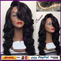 best pianos - Top Grade Best Virgin Brazilian Human Hair Wig Full Lace Wig With Bangs Cheap Human Hair Lace Front Wigs Glueless