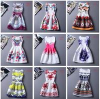 peplum - 80 Designs Womens Dresses Summer Dress for Women Casual Print Dress European Style Vest Vintage Women Clothing Vestidos Dress Plus Size