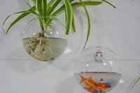 glass fishbowl - 2PCS set Glass Wall Planters Hanging Wall Bubble Terrarium wall fishbowl for home decoration wall decor indoor plant for house ornament