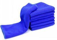 Wholesale 200pcs cmx70cm Microfiber Car Cleaning Towel Microfibre Detailing Polishing Scrubing Waxing Cloth Hand Towel