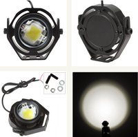 accord fog light - 12 V LM W CREE U2 LED Eagle Eye Car Fog Daytime Running Reverse Backup Parking Light Lamp Motorcycle Spotlight