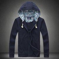Wholesale Hitz male taxi fertilizer XL fleece sweater tide male coat cardigan hooded loose cotton jersey