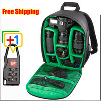 Wholesale New Pattern DSLR Camera Bag Backpack Video Photo Bags for Camera d3200 d3100 d5200 d7100 Small Compact Camera Backpack