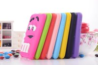 Wholesale Cute Cartoon Style D MM Finger Beans Scent Design Soft Silicone Gel Case Skin Cover Protective For Apple iPod Touch th