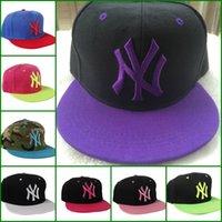 Wholesale NY Baseball Caps Snapbacks Hats Adjustable Cap Popular Hip hop Hat Men and Women Ball Caps Christmas Gifts