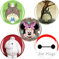 anime ear plugs - ear gauges bag anime series ear plug gauges flesh tunnel plugs ear expander MTP017