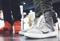 Wholesale New Brand ADS Yeezy Boost For Women Men Basketball shoes sports casual shoes Running Athelitics sneakers Genuine leather