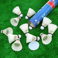 Wholesale White Training Gym Durable Goose Feathers Badminton Shuttlecocks for Casual Playing Practice Outdoor Ball Sports Accessory