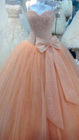 big quinceanera dresses - Ball Gown Quinceanera Dresses Sweet Dresses Big Bow Sweety Sparkly Quinceanera Debutante Dresses Prom Evening Formal Dress Gowns Custom