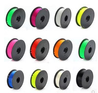 Wholesale PLA ABS MM MM D Color D printer consumables three dimensional printing consumption materials